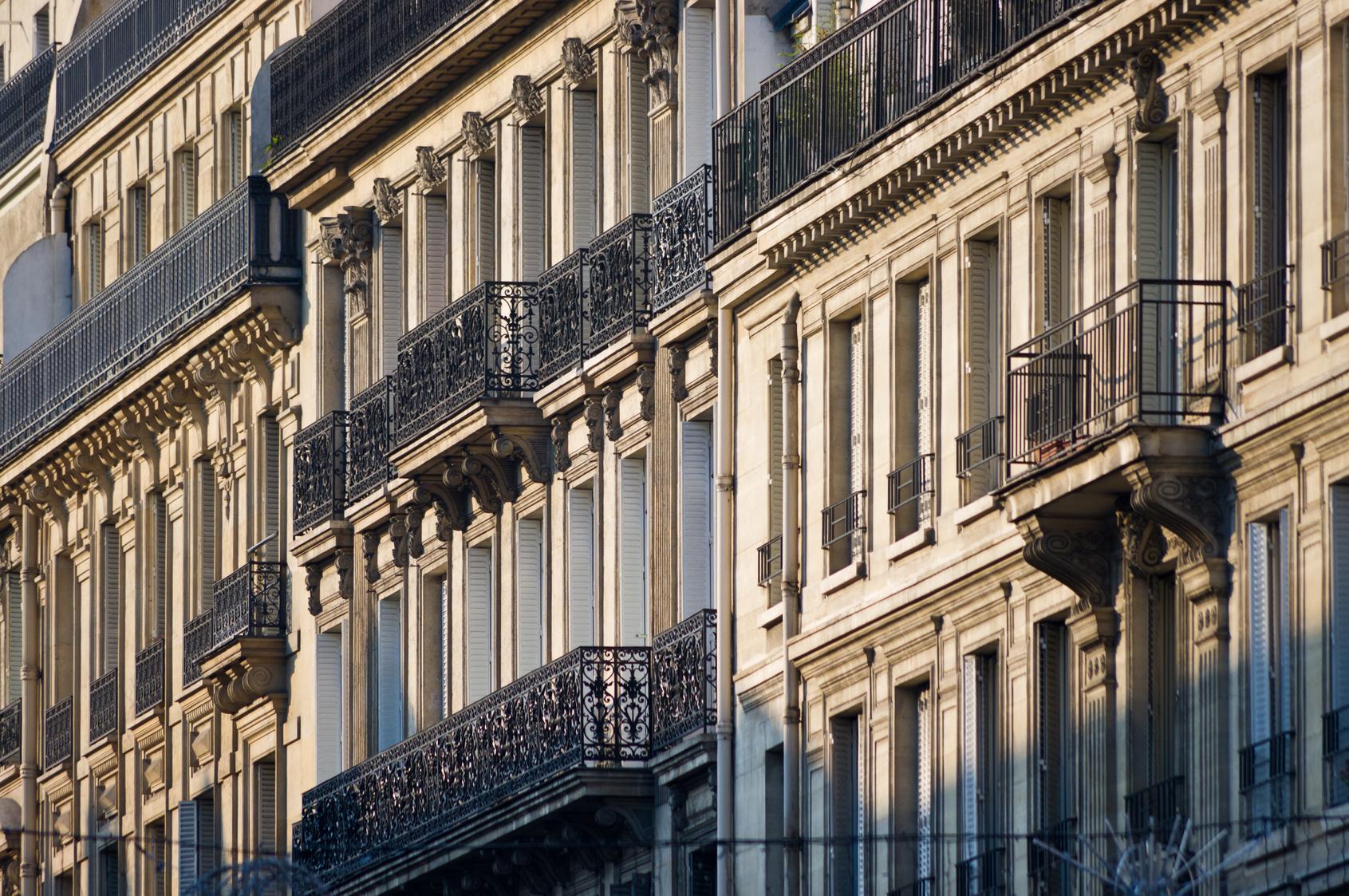 Paris immeuble
