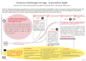 Assurance dommages ouvrage : la procédure légale